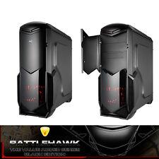 Aerocool Battlehawk ATX Mid-Tower Gaming Computer PC Case Black, NO PSU