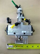 Daul Axis Pneumatic Cylinder Rotates and Up/Down Wafer Finger Robot Pick Place
