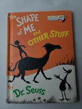 Dr Seuss 1973 Book Club Edition The Shape Of Me And Other Stuff Random House