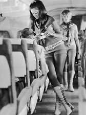 "Sexy Stewardess 10"" x 8"" Photograph"