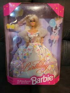 HAPPY BIRTHDAY BARBIE DOLL 1996 LIMITED EDITION MATTEL #15998 MIB BLONDE