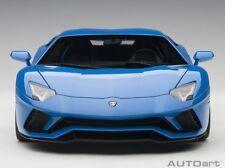 Autoart 1/18 Lamborghini Aventador S Blue Nila / Pearl Blue 79134