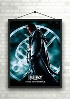 V for Vendetta Classic Movie Large Poster Art Print Gift A0 A1 A2 A3 Maxi