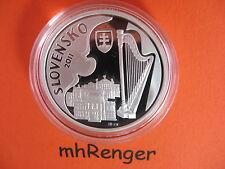 SLOWAKEI 2011 10 EURO SILBER PP PROOF - JAN CIKKER -