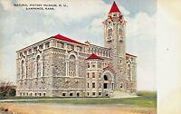 LAWRENCE KANSAS~UNIVERSITY-NATURAL HISTORY MUSEUM~WEBB-FREYCHLOG PUBL POSTCARD