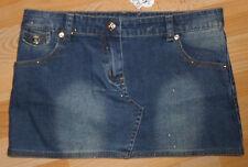 Rock Jeans-jeansrock  Gr  128  glitzer