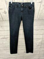 Ann Taylor LOFT Women's Modern Skinny Dark Wash Stretch Denim Jeans - 31/12 x 31