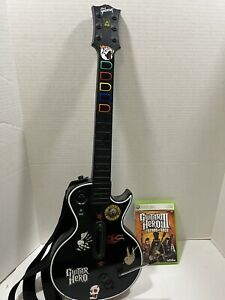 Xbox 360 Guitar Hero 3 Legend Of Rock Gibson Les Paul Wireless Game Tested Clean