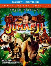 Robin Williams Animal Game Original Film Jumanji Movie on Blu-ray & Digital Copy