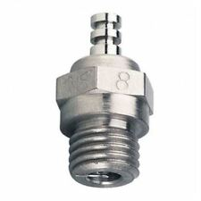 O.S. Engines 8 Glow Plug Standard Long Medium Hot OSM71608001