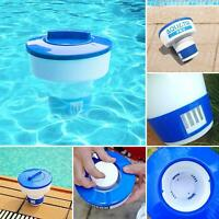 8 Inch Swimming Pool Spa Automatic Floating Chlorine Chemical Tablet Dispenser P