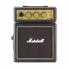 Marshall MS-2 Mini Practice Electric Guitar Amplifier with Belt Clip