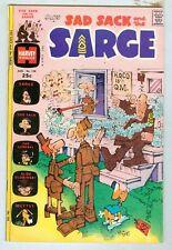 Sad Sack and the Sarge #108 August 1974 VG