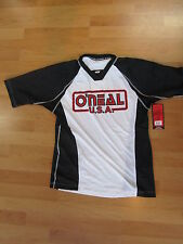 Oneal O´neal Freeride DH BMX Shirt Jersey  Gr. S Pinit Kurzarm Pin IT weiss