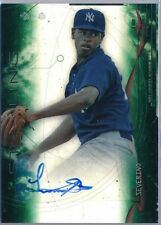 2014 Bowman Sterling Green Ref Refractor Luis Severino Rc Auto # 072/125