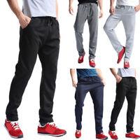 Men Sports Pants Trousers Jogging Joggers Sweatpants Tracksuit Casual Long Pants