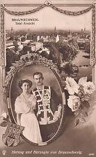Braunschweig, Herzog u.Herzogin von Braunschwg.gelauf.1913, sehr gut, siehe Scan
