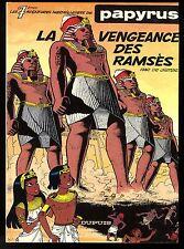 PAPYRUS  T 7    LE VENGEANCE DE RAMSES    DE GIETER     EO