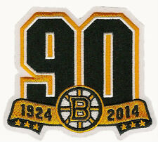 BOSTON BRUINS 90TH ANNIVERSARY JERSEY PATCH