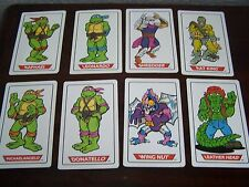Teenage Mutant Ninja Turtles giganti gioco di carte da Waddington (comprende 40 carte)
