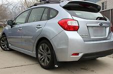 Subaru Impreza 2.0 Sport Premium Rally Mud Flaps ROKBLOKZ 2012-16 Hatch Sedan