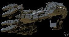 Maddox Corvette Alien Spaceship Mahogany Kiln Dry Wood Model Large New