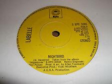 "LABELLE "" NIGHTBIRD "" EPIC 7"" SINGLE 1974 EXCELLENT"