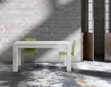 Tavolo Abete bianco spazzolato allungabile misure 160x90 con 2 allunghe da 50 cm