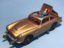Corgi Juguete Vintage 261 James Bond 007 DB5 Aston Martin agente secreto bien Raro
