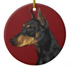 Doberman Pinscher Ornament - Personalize with Name - Great as Christmas Gift!