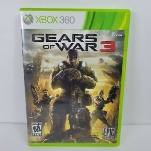 Gears of War 3 (Xbox 360, 2011)