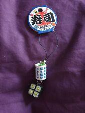 Japan Strap Sushi Phone Charm Keyring