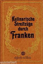 *- KULINARISCHE Streifzüge durch FRANKEN - Frank GERHARD gebunden HC (1980)