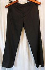 Ashworth Black Men Dress Pants 32 Long