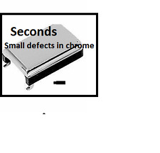 """Seconds""  Dorman Help ! 77218 Slight defects in chrome"