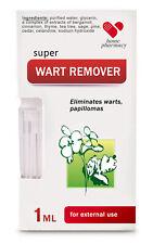 Wart Remover, Papilloma Removal SUPER CELANDINE  Chistotel 1 ml Анти Бородавки