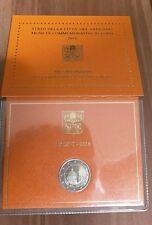2 euro 2016 Vaticano Gendarmeria Police folder official BU