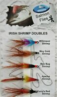 Dragon 'GIFT' Irish Shrimp Doubles, Mustad Fly Hooks, Salmon & Sea Trout Fishing