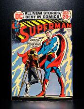 COMICS: DC: Superman #254 (1972), Neal Adams art - RARE