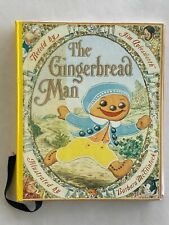 The Gingerbread Man, Jim Aylesworth-- rare braille children's book, 1998