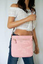 Michael Kors Nylon Kelsey Large Crossbody Bag Pink Carnation