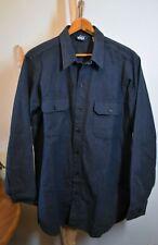 WOOLRICH Men's Thick Cotton Chamois/Flannel Button-Front *Mint* XXL-Long U.S.A.