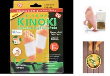Kinoki Gold Ginger and Salt formula Premium Detox Foot Pads Organic Herbal