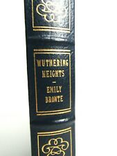 Wuthering Height by Emily Bronte  Easton Press Leather 1980