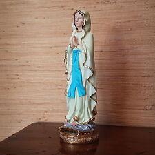 Madonna von Lourdes Statue Deko Figur Heiligenfigur Mutter Gottes Heilige Maria