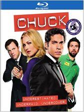 Chuck: The Complete Fourth Season [4  Blu-ray Region A BLU-RAY/WS