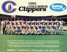 1980 Columbus Clippers AAA International League Champs Team Picture 8 X 10 Photo