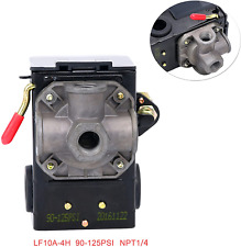 New Listingpressure Switch Control 90 125psi 4 Port Heavy Duty 26 Amp For Air Compressor Lf
