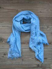 Leichter Tuch Schal Hellblau