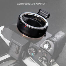 Commlite CM-EF-E HS Autofoco Lente Adaptador Para Canon EF/EF-S Lens Para Sony E